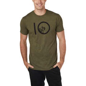 tentree Ten Maglietta a maniche corte Uomo, moss green heather